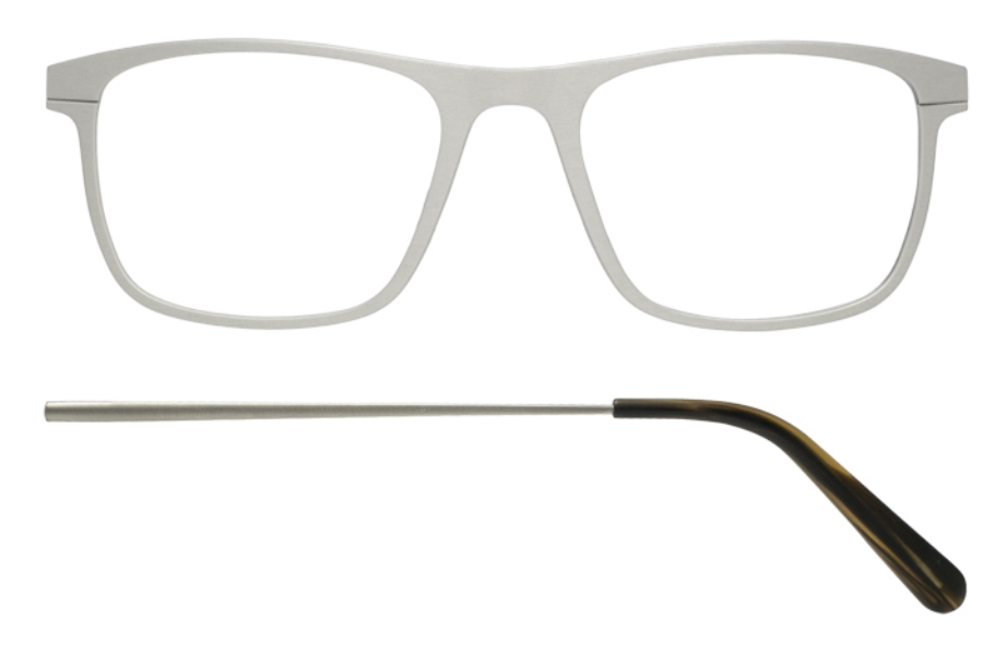 Kilsgaard 57 (Aluminium Temple) Eyeglasses in 57.0/1 Silver (Discontinued)