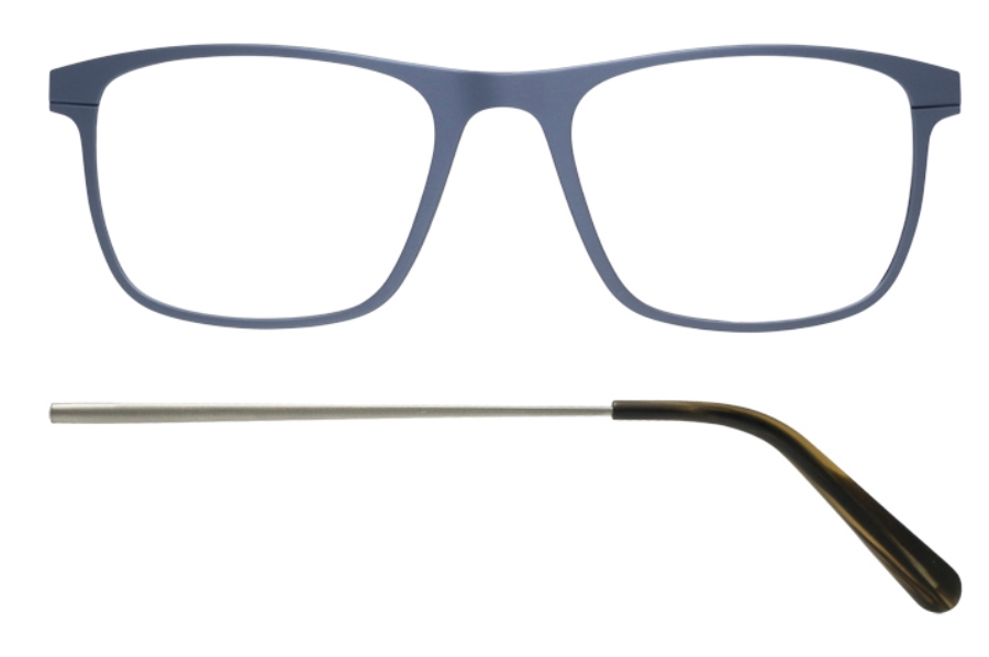 Kilsgaard 57 (Aluminium Temple) Eyeglasses in 57.12/13 Titan (Discontinued)