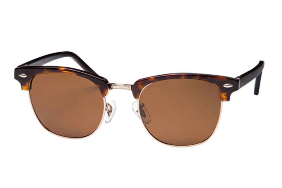 Kirby Cross Trendsetter Sunglasses in Tortoise Gold