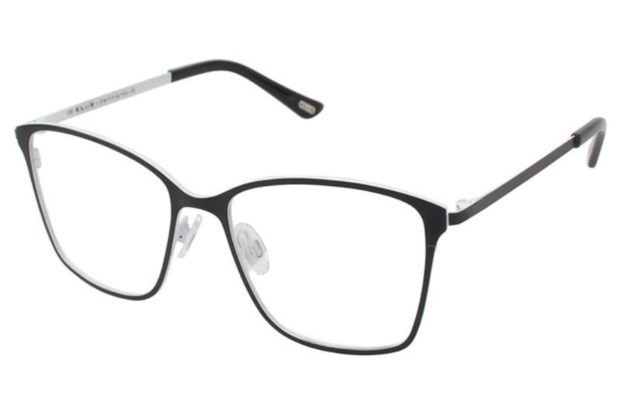 Kliik KLiiK 552 Eyeglasses in 531 Black White