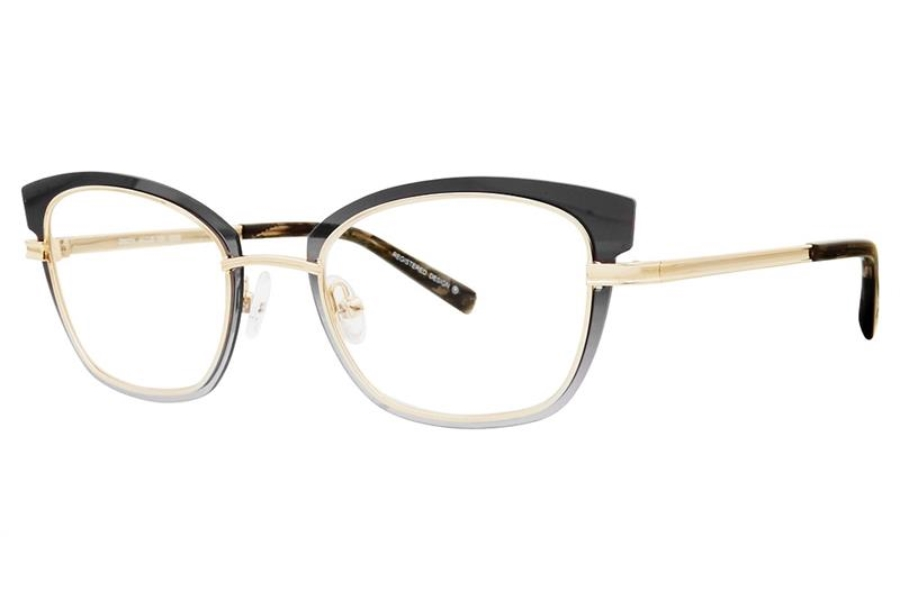 Koali 20027K Eyeglasses in GD05 Grey/Gold