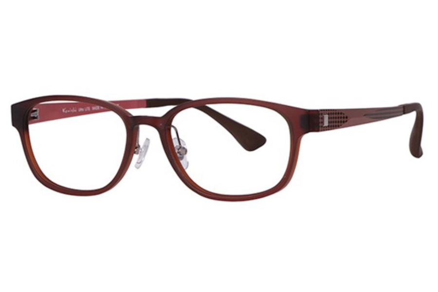 Konishi Lite KL3621 Eyeglasses in C1 Brown