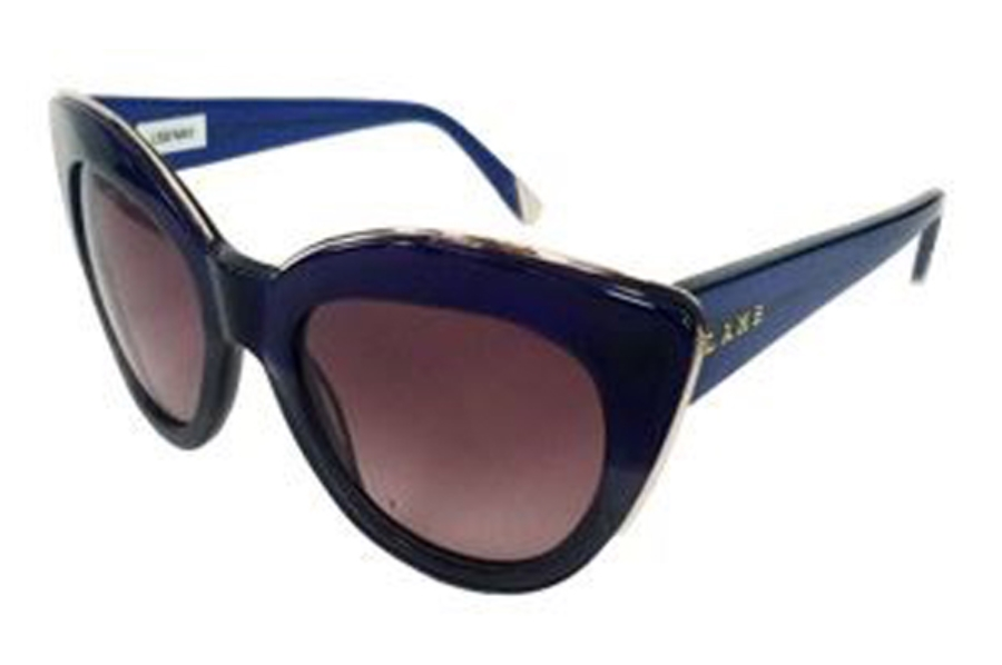 L.A.M.B. by Gwen Stefani LA526 Sunglasses in BLU Blue