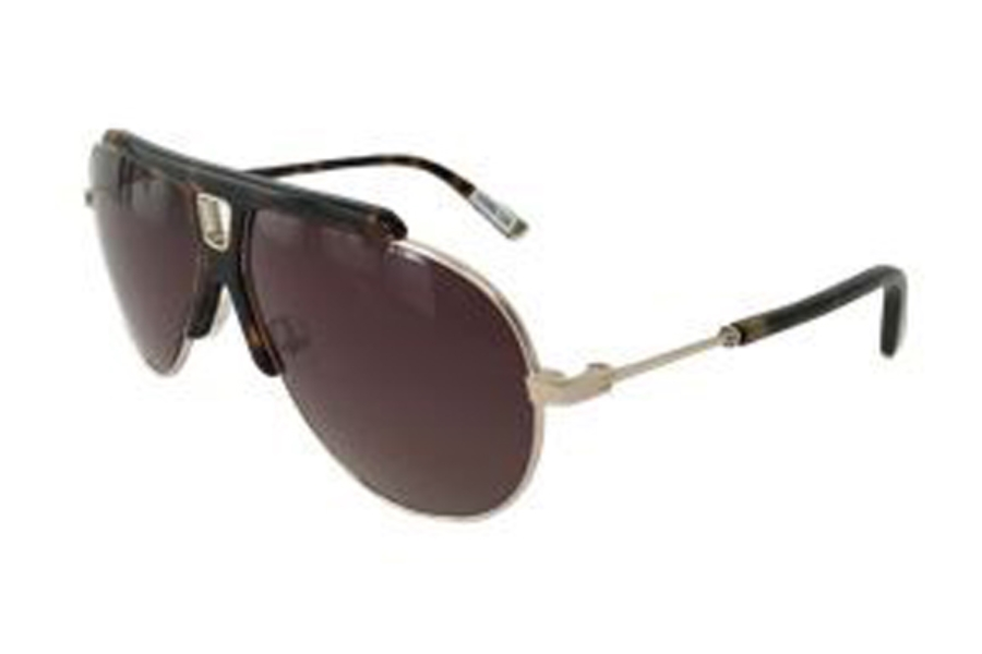 L.A.M.B. by Gwen Stefani LA527 Sunglasses in TOR Tortoise Gold
