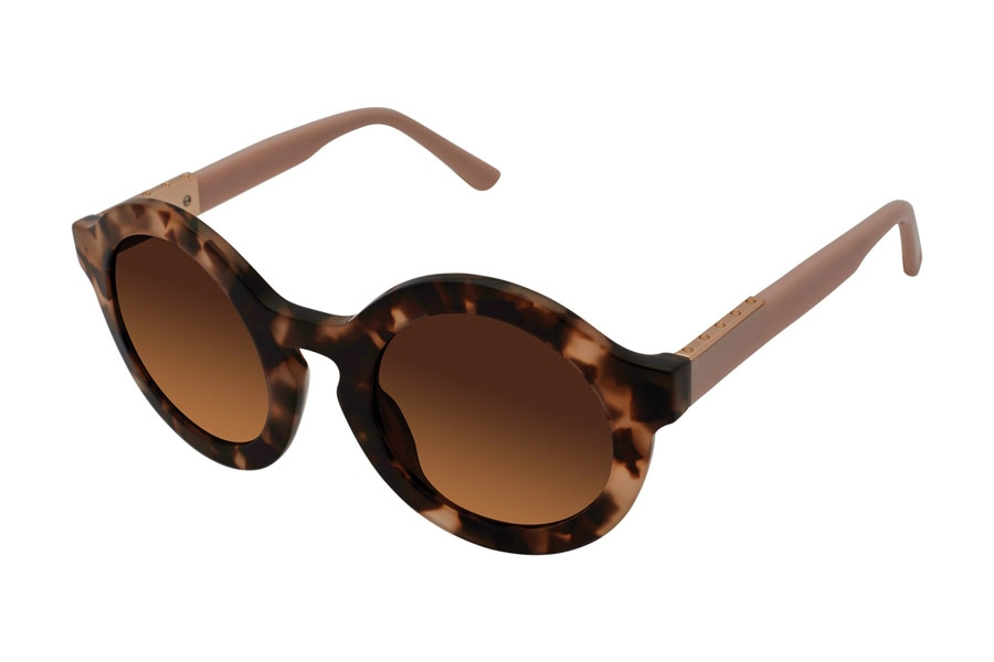 L.A.M.B. by Gwen Stefani LA535 Sunglasses in TOR Tortoise Blush
