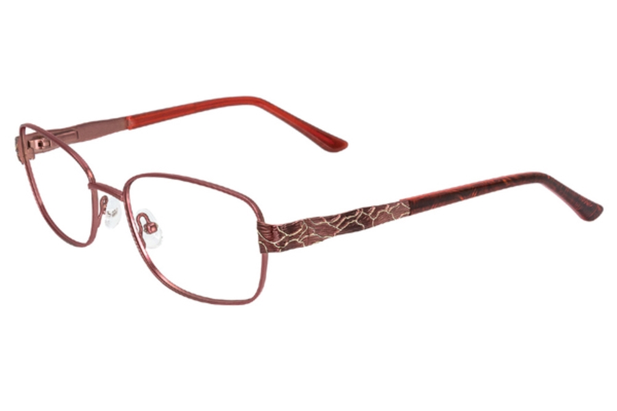 Port Royale Leah Eyeglasses in C-2 Berry