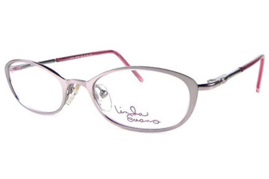 Linda Evans LE 259 Eyeglasses in Blush
