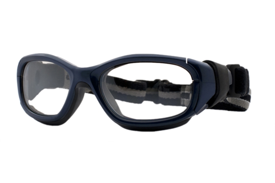 F8 by Liberty Sport Slam Goggle Goggles in Navy Blue / Dark Grey