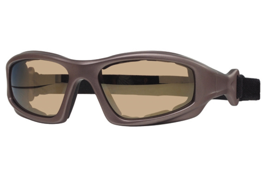 Liberty Sport TORQUE II Sunglasses in Matte Grey / Brown Lens