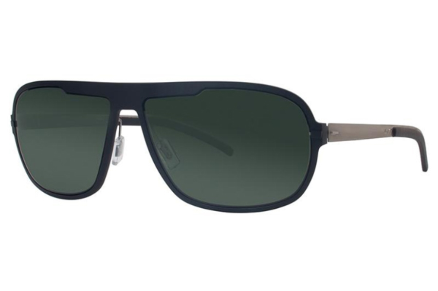 LT LighTec 7626L Sunglasses in NG030 Black / Green