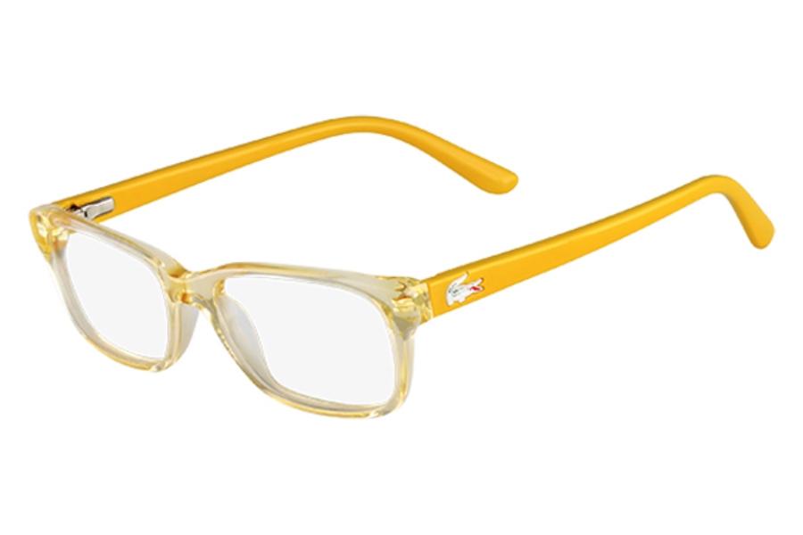 8d335e2b92dc Lacoste L3606 Eyeglasses in 750 Lemon ...