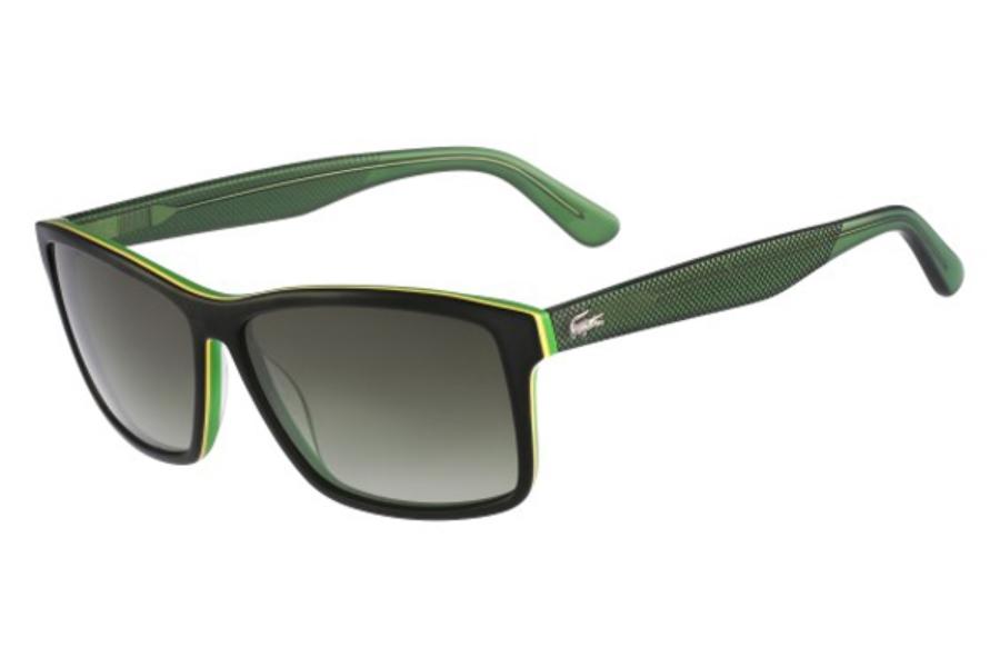 4d4b75ed7 ... Lacoste L705S Sunglasses in 315 Dark Green Green ...