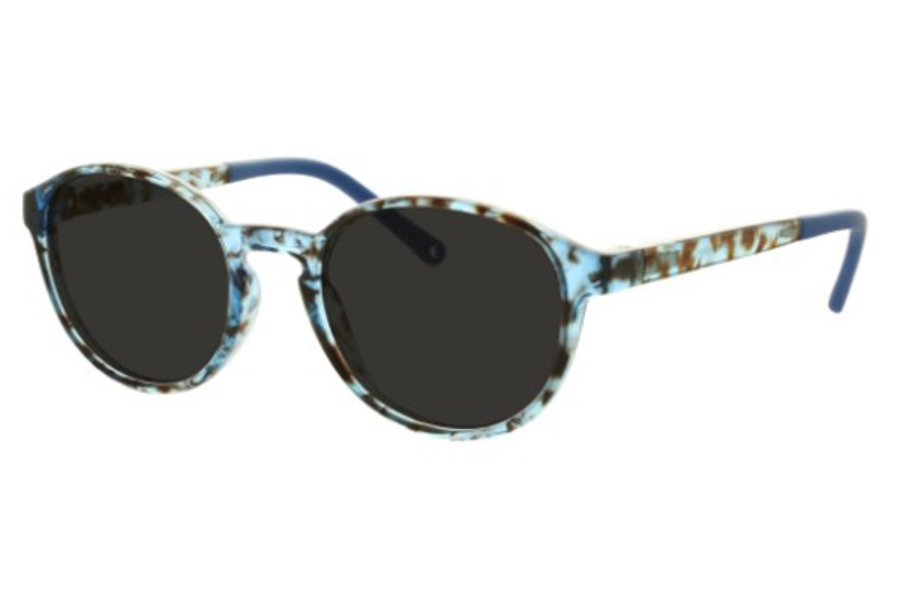 Lafont Kids Aloha Sunglasses in 3105 Blue (48 Size Available)