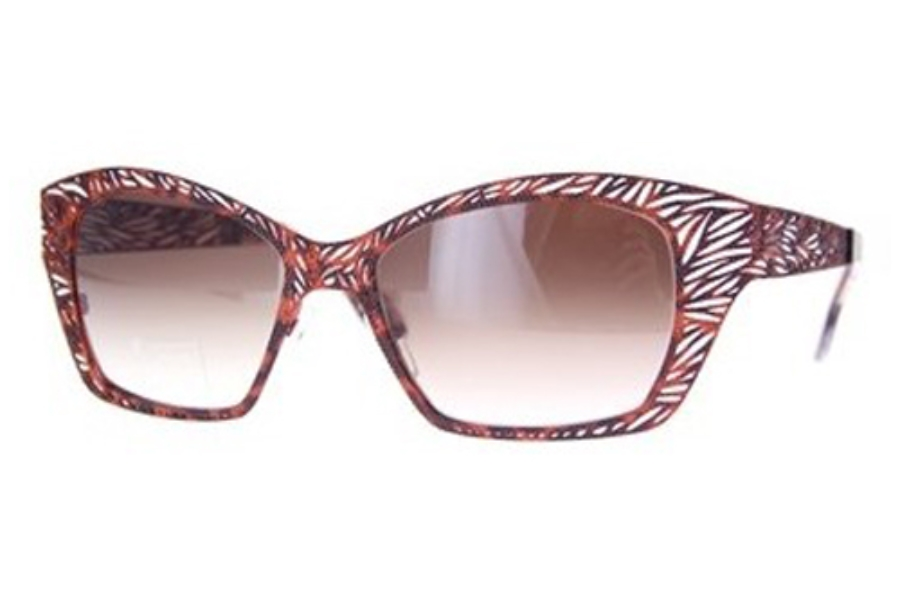 Lafont Lome Sunglasses in 851 Orange