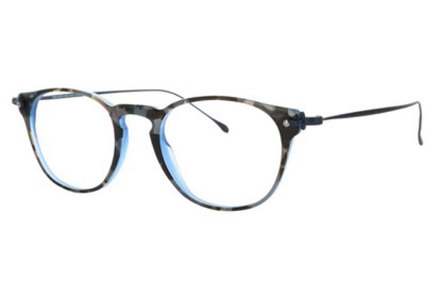 Lafont Reedition Theme Eyeglasses in 3070 Blue