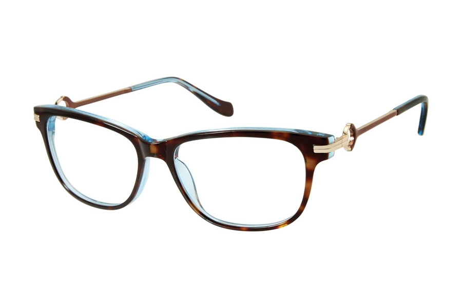 Tura by Lara Spencer LS111 Eyeglasses in TOR Tortoise
