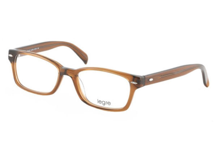 9e6da29556f ... Legre LE102 Eyeglasses in 325 Seethrough Chestnut ...