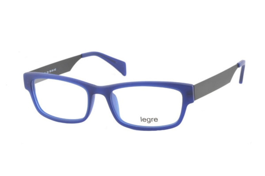 Legre LE224 Eyeglasses in C09 Matte Blue/Black