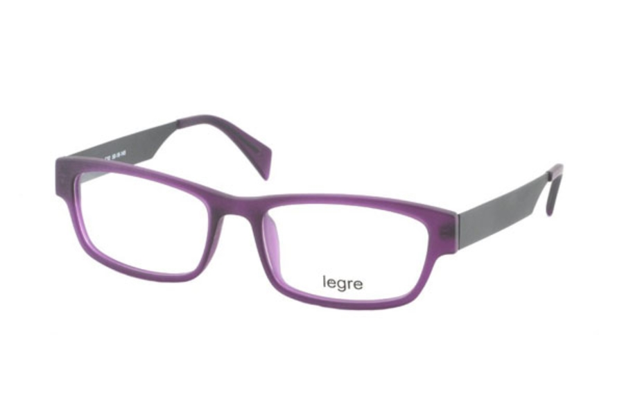 Legre LE224 Eyeglasses in C10 Matte Plum/Black