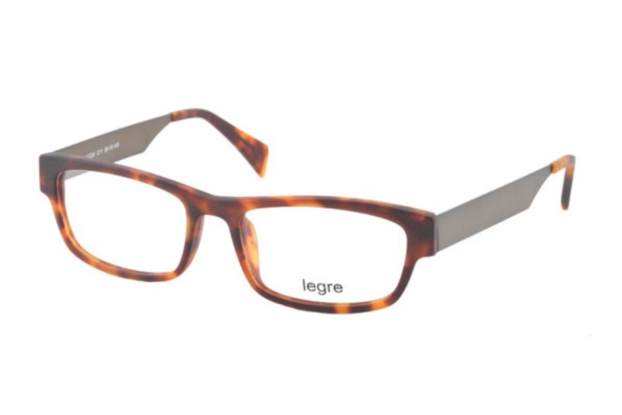 Legre LE224 Eyeglasses in C11 Matte Tortoise/Brown