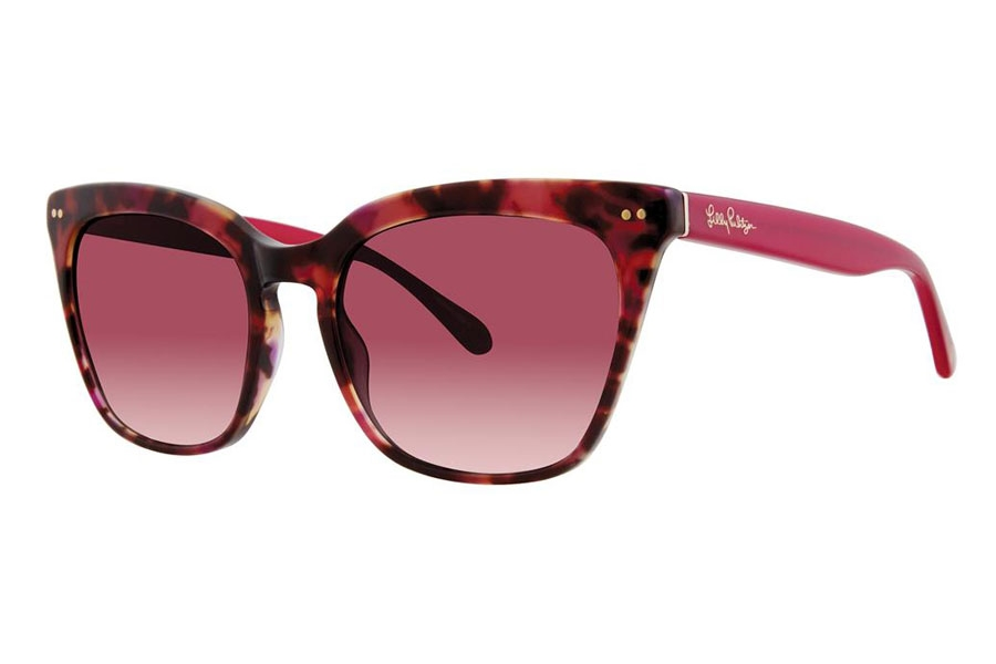 Sunglasses Lilly Pulitzer Kenda Pink Tortoise