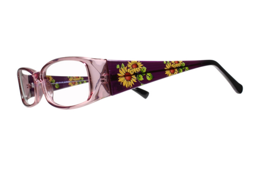 Limited Editions Anika Eyeglasses in Purple