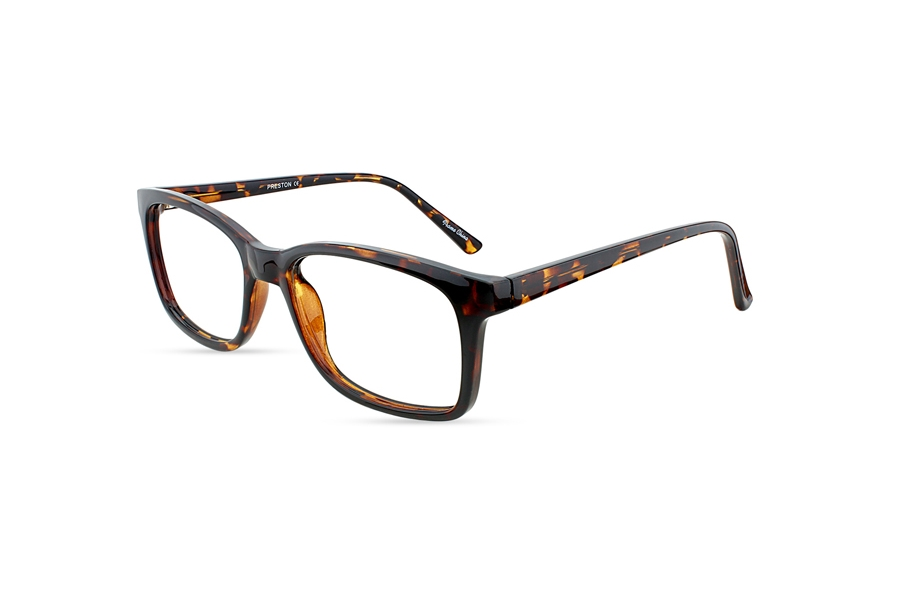 Limited Editions Preston Eyeglasses in Tortoise