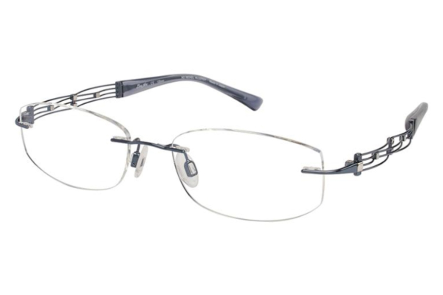 Line Art by Charmant XL 2012 Eyeglasses in BL Blue