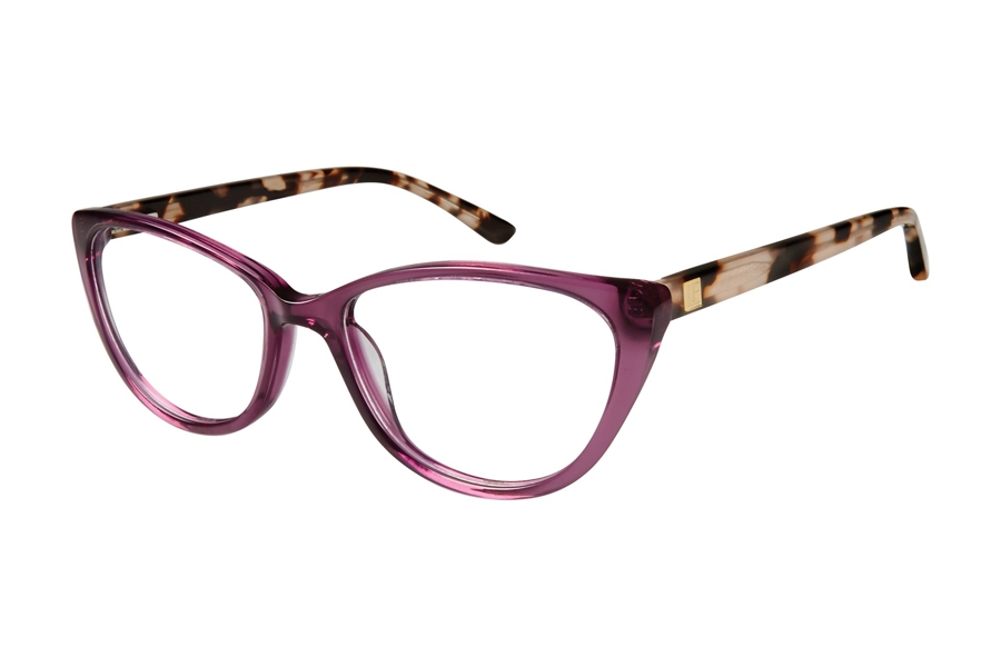 London Fog Victoria Eyeglasses in Purple