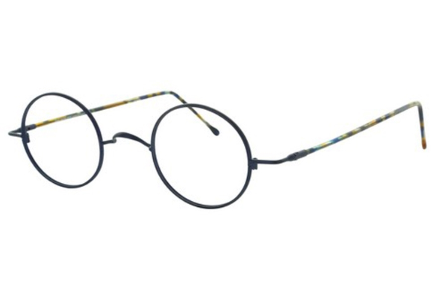 Lafont Reedition Schubert Eyeglasses in 367 Blue