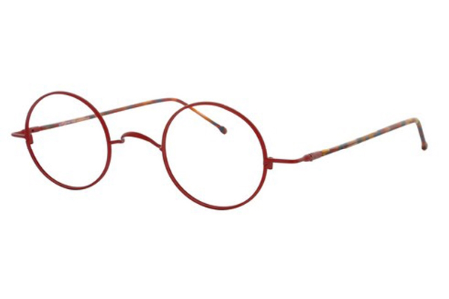 Lafont Reedition Schubert Eyeglasses in 601 Red