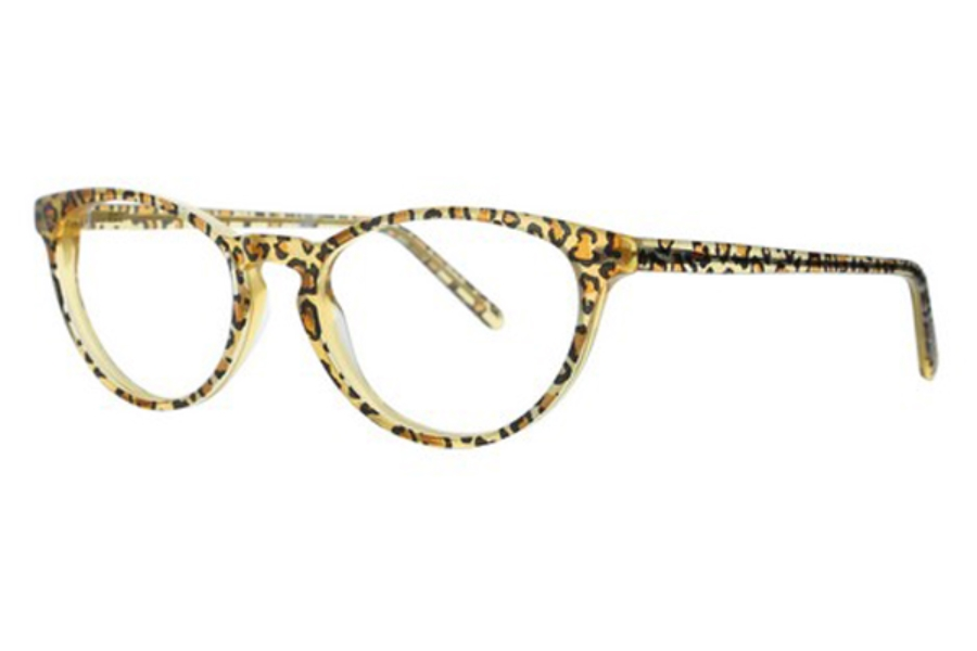 Lafont Reedition Simone Eyeglasses in 380 Panther