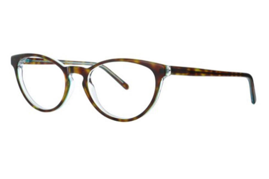 Lafont Reedition Simone Eyeglasses in 675 Tortoise Shell