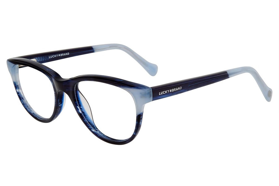 Lucky Brand Kids D711 Eyeglasses in Navy