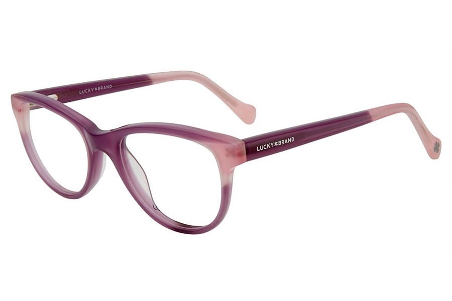 Lucky Brand Kids D711 Eyeglasses in Purple