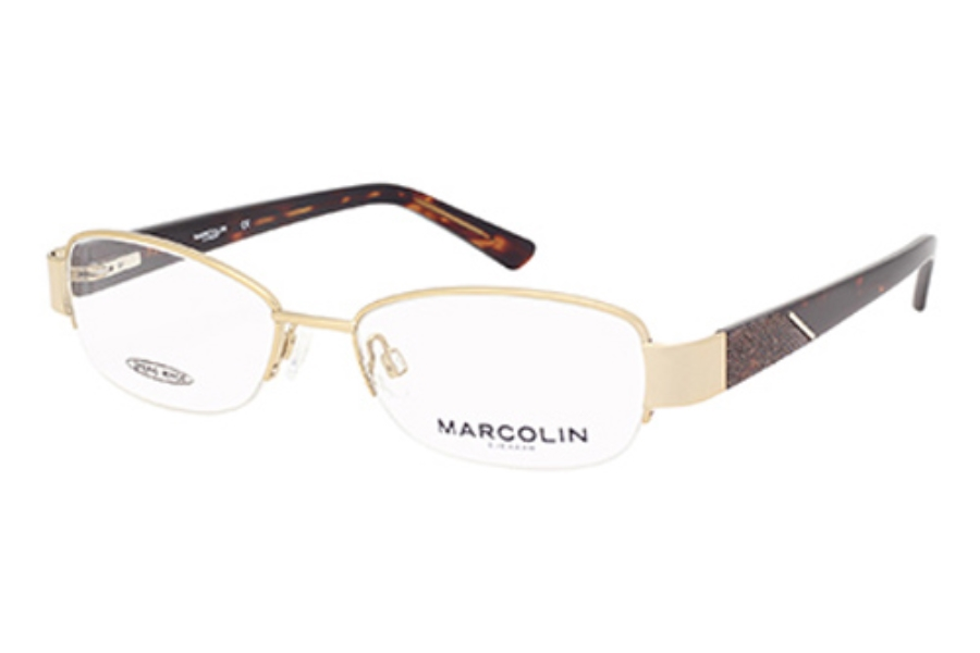 Marcolin MA7330 Eyeglasses in 032 Gold