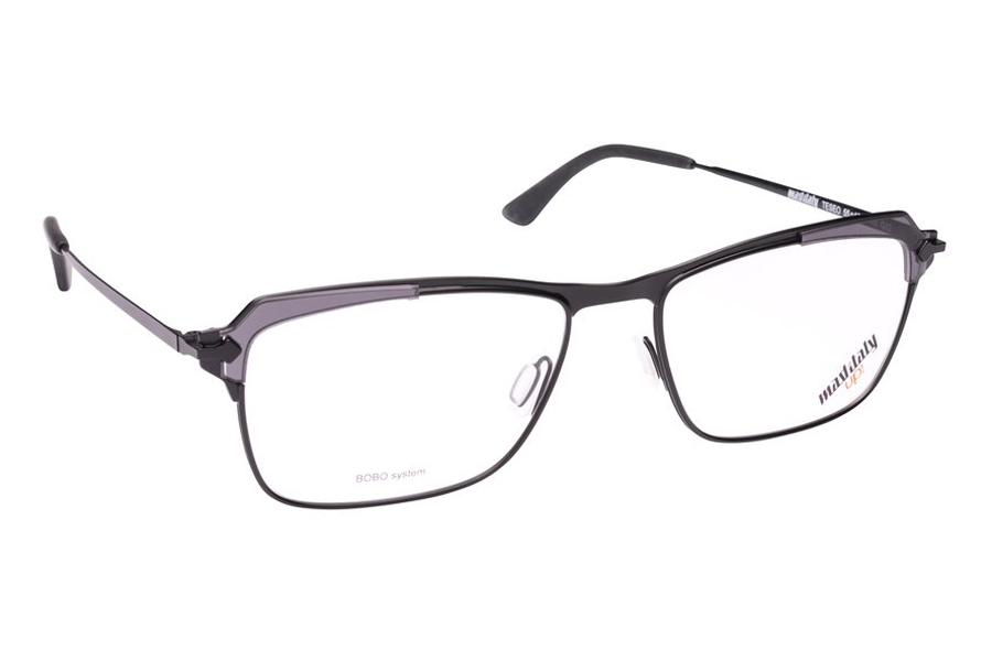 Mad in Italy Teseo Eyeglasses in G02 Black/Grey