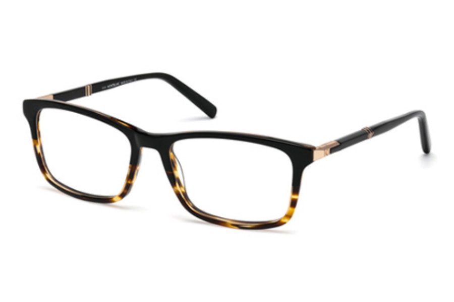 Mont Blanc MB0540 Eyeglasses in 056 Havana/Other