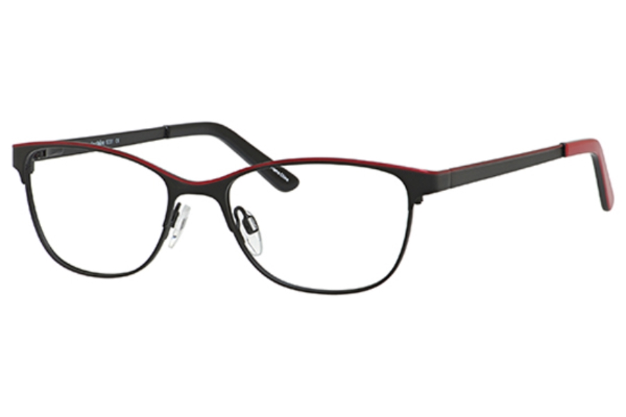 Marie Claire MC6231 Eyeglasses in Black/Red