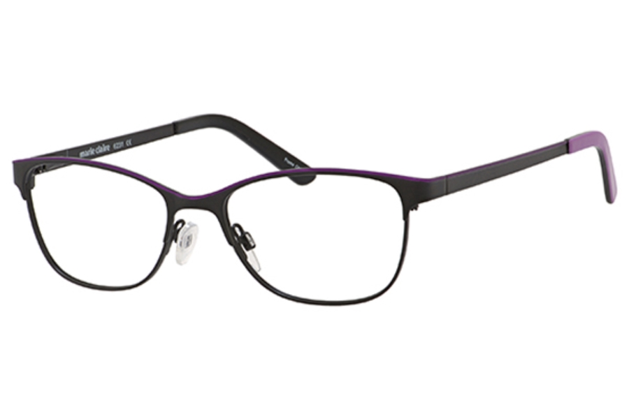 Marie Claire MC6231 Eyeglasses in Black/Lavender