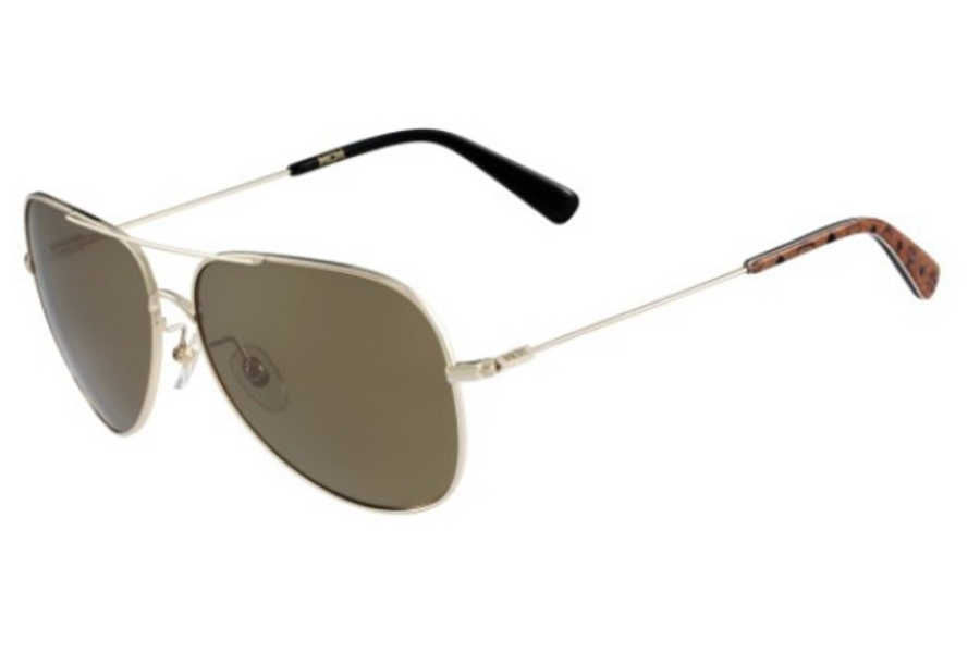 MCM MCM117S Sunglasses in 717 Gold