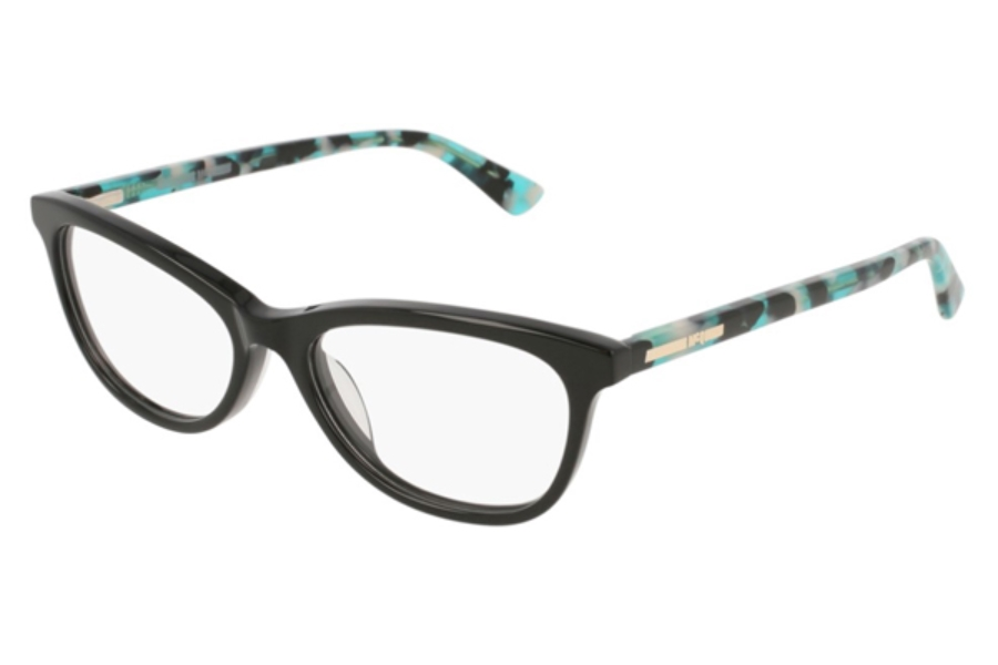 MCQ MQ0112OP Eyeglasses in 004 Black