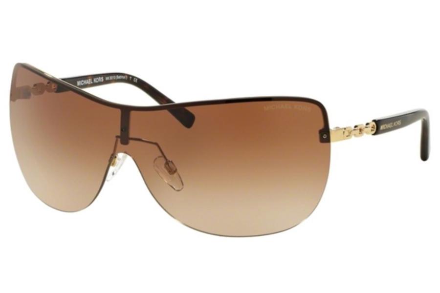 39d5baf10eb2 ... Gold / Burgundy Gradient; Michael Kors MK5013 SABINA I Sunglasses in Michael  Kors MK5013 SABINA I Sunglasses ...
