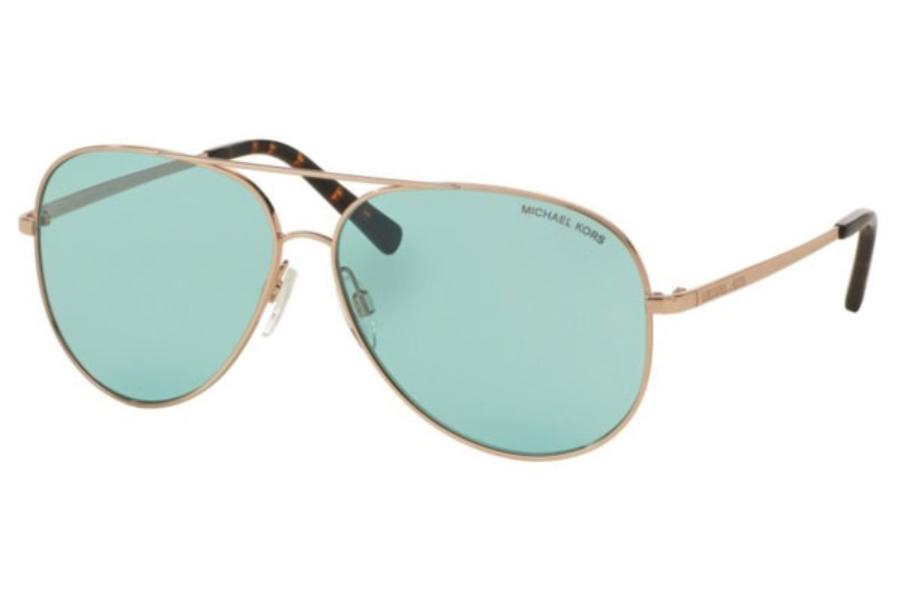 855b83f28609 Michael Kors MK5016 KENDALL Sunglasses in 102665 Rose Gold / Eal Solid ...