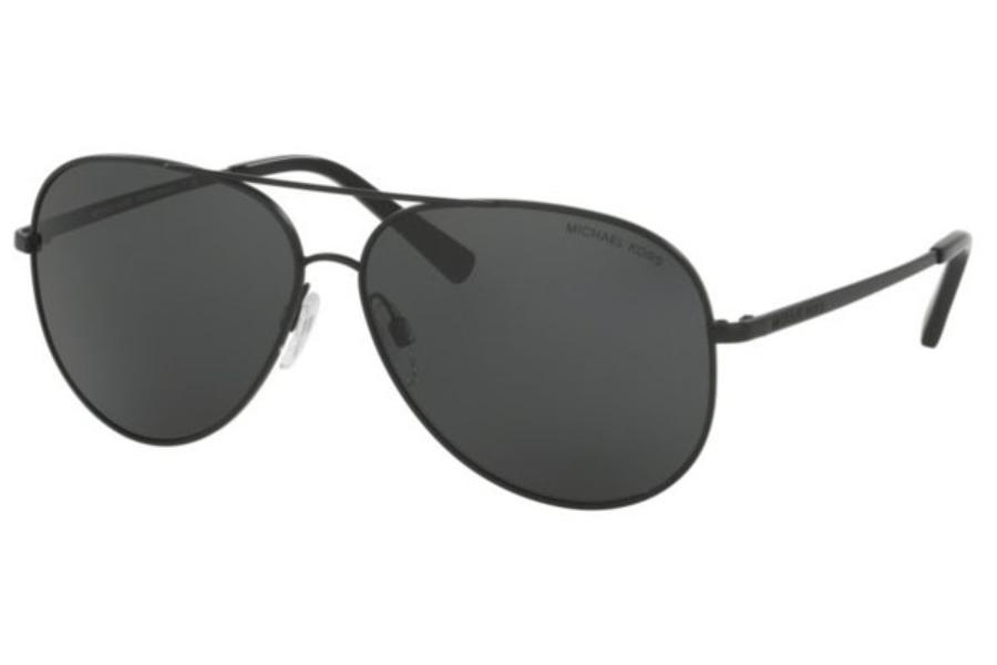 ba66e1ba61ac7 ... Michael Kors MK5016 KENDALL Sunglasses in 108287 Matte Black   Grey  Solid ...