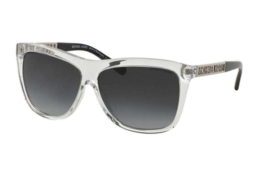 f1098d107e Michael Kors MK6010 BENIDORM Sunglasses in 301511 Crystal Grey Gradient ...