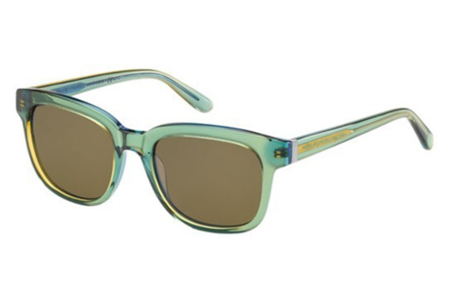Marc By Marc Jacobs MMJ 352/S Sunglasses in 03Z6 Yellow Blue (X7 brown lens)