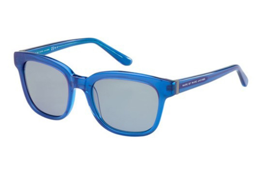 Marc By Marc Jacobs MMJ 352/S Sunglasses in 03ZJ Blue Pink (P1 gray lens)