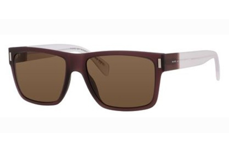 Marc By Marc Jacobs MMJ 468/S Sunglasses in 0B35 Brown Crystal (EJ brown lens)
