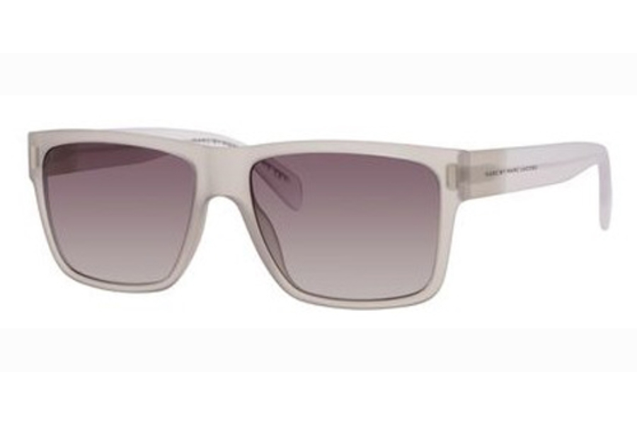 Marc By Marc Jacobs MMJ 468/S Sunglasses in 0B5S Gray Crystal (N3 gray gradient lens)